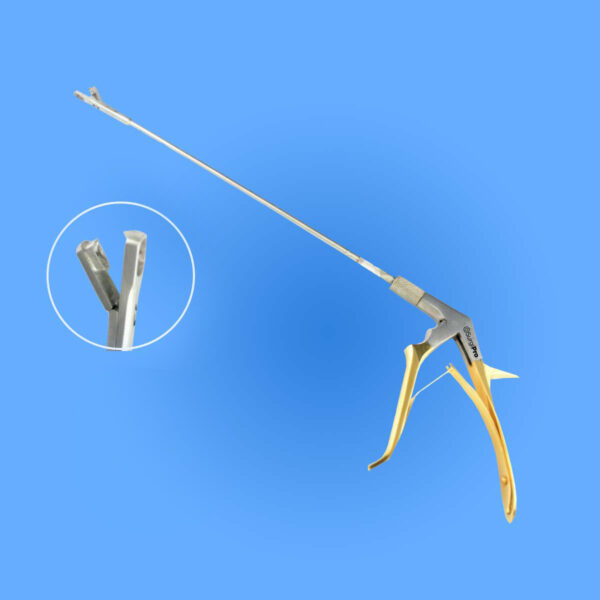 Photo - Image of Surgical Tischler Rotating Cervical Biopsy Punch Forceps, SP0-304, provided courtesy of Surgipro.com.