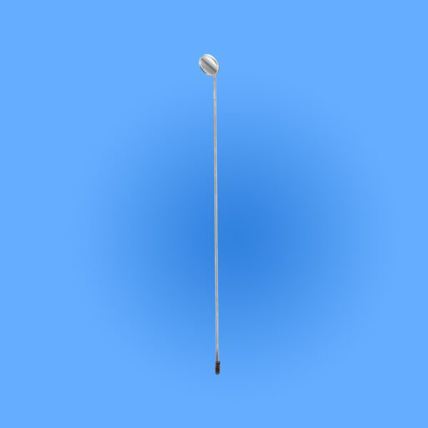Surgical Laryngeal Mirrors Mirror Only with Threaded Stem SPLI 017