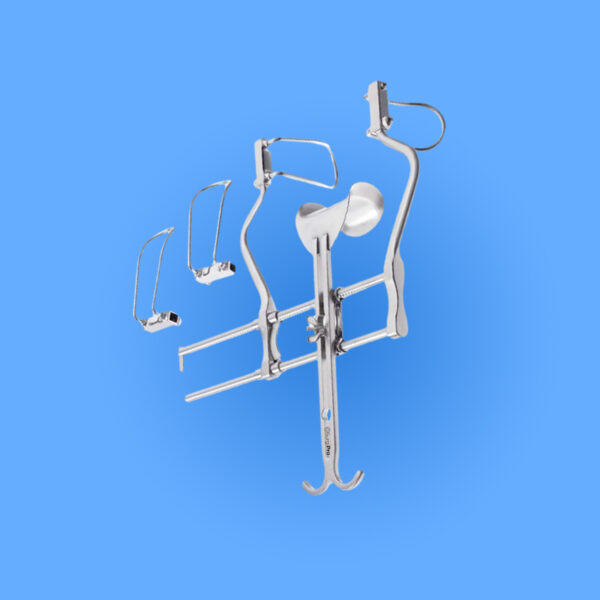 Photo of Surgical Balfour Abdominal Retractor, SPRO-073, provided courtesy of Surgipro.com.